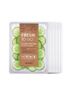 5+5 FRESH TO GO CUCUMBER MASK SHEET BUNDLE WITH PET