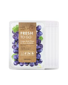 5+5 FRESH TO GO GRAPE MASK SHEET BUNDLE WITH PET