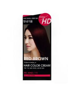 Make Hd Hair Color Cream 7r Red Brown