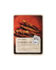 Pureness 100 Red Ginseng Mask Sheet - Shine