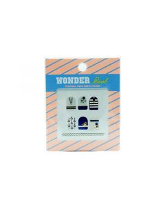 Wonder Pool Tony Nail Parts Sticker 01