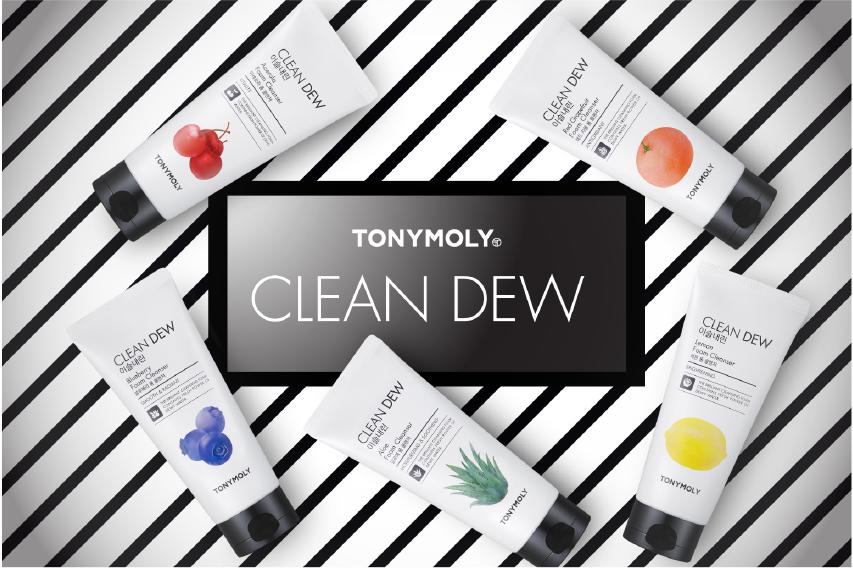 CLEANSE YOUR FACE NATURALLY: CHOOSE FROM OUR 5 JUICY CLEAN DEW FACIAL FOAM CLEANSER