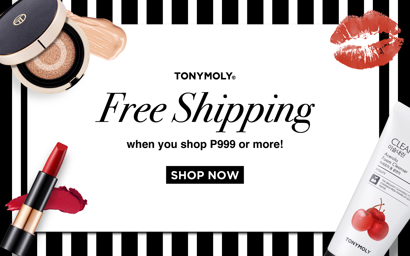Welcome TONYMOLY Philippines Online Shop