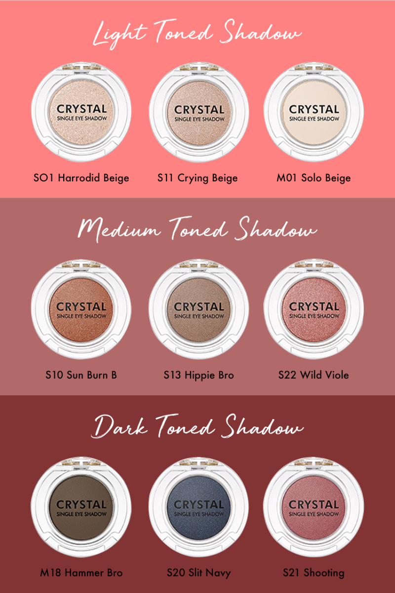 Crystal Single Eyeshadow